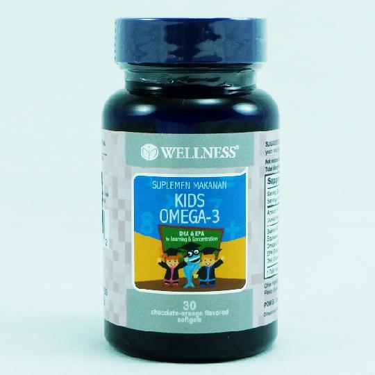 WELLNESS KIDS OMEGA-3 30'S