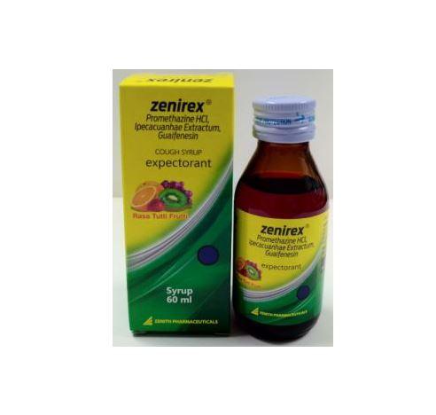 ZENIREX EXPECTORANT SIRUP 60 ML