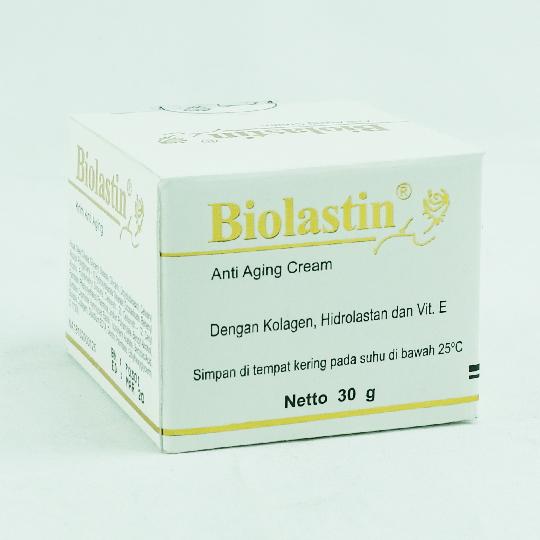 BIOLASTIN ANTIAGING CREAM 30 G