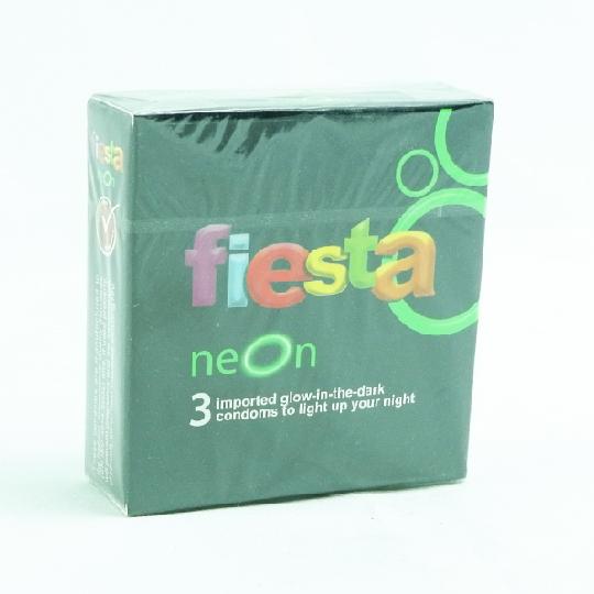 KONDOM FIESTA NEON 3'S