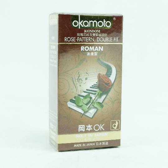 KONDOM OKAMOTO ROMAN 10'S