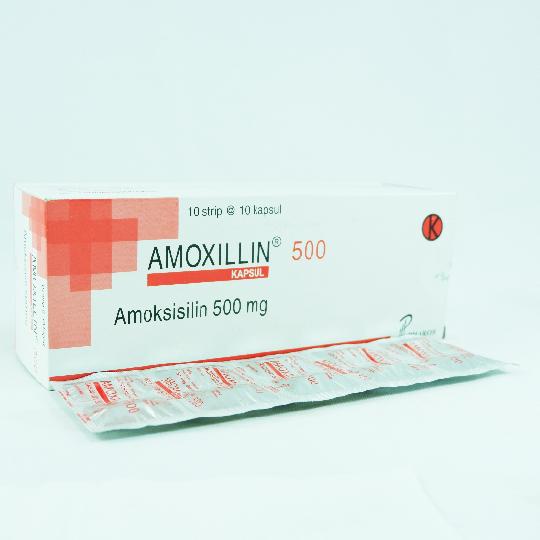 AMOXILLIN 500 MG 10 KAPSUL