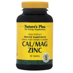 NATURE'S PLUS CALCIUM MAGNESIUM ZINC 60'S