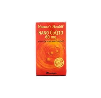 NATURE'S HEALTH COQ10 60 MG 30'S