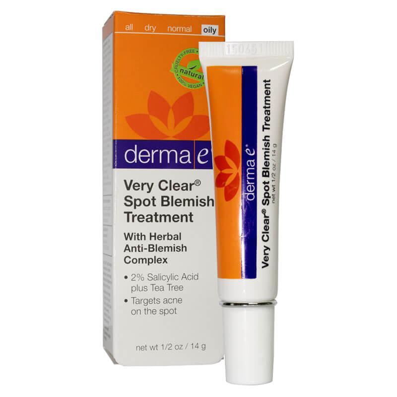 DERMA E VERY CLEAR SPOT TREATMENT ANTI BLEMISH 14 GR