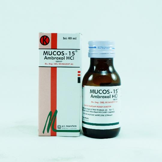MUCOS SIRUP 60 ML