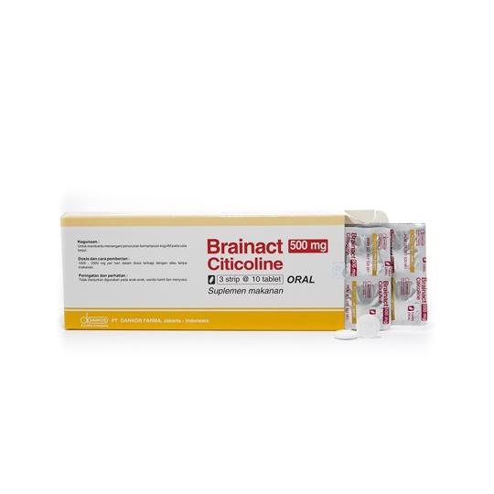 BRAINACT 500 MG 10 TABLET