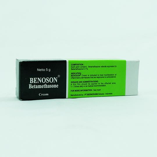 BENOSON 0.1% CREAM 5 G