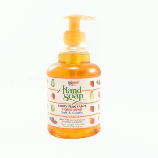 YURI HAND SOAP ORANGE PUMP 410 ML
