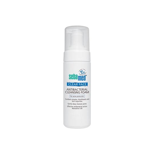SEBAMED CLEAR FACE ANTIBACTERIAL CLEANSING FOAM 150 ML