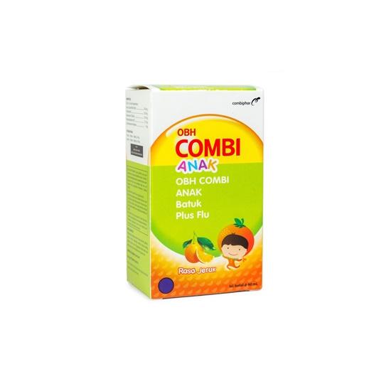 OBH COMBI ANAK BATUK PLUS FLU JERUK 60 ML
