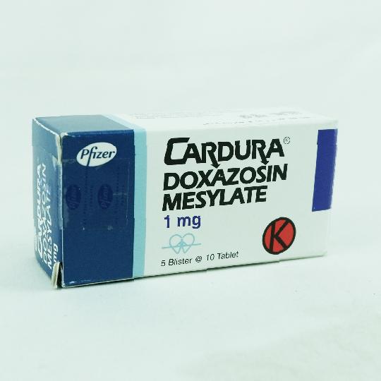 CARDURA 1 MG 10 TABLET