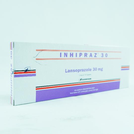 INHIPRAZ 30 MG 10 KAPSUL