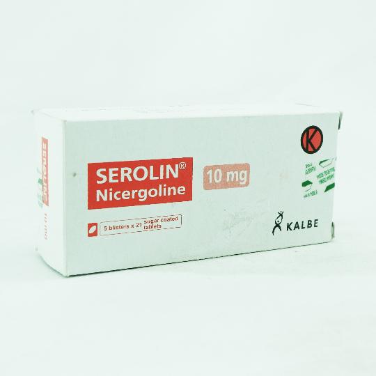 SEROLIN 10 MG 21 TABLET