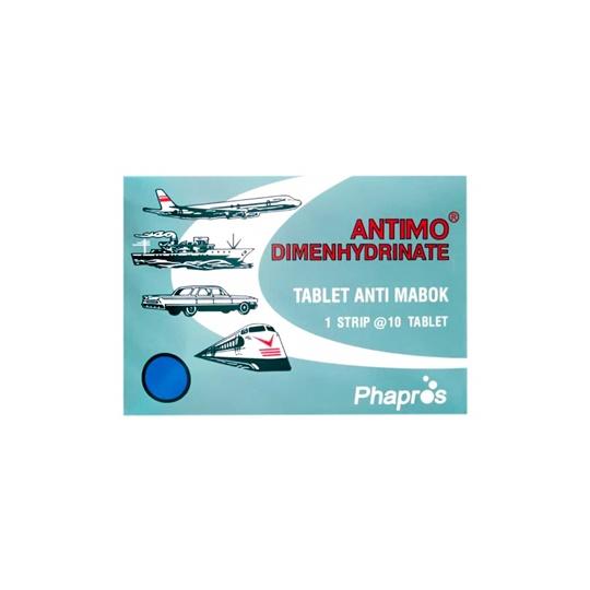 ANTIMO 50 MG 10 TABLET