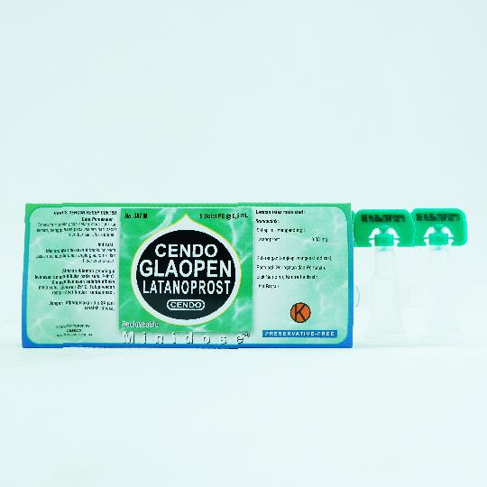 CENDO GLAOPEN MINIDOSE 0.6 ML 5'S