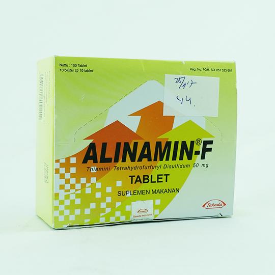 ALINAMIN-F 10 TABLET