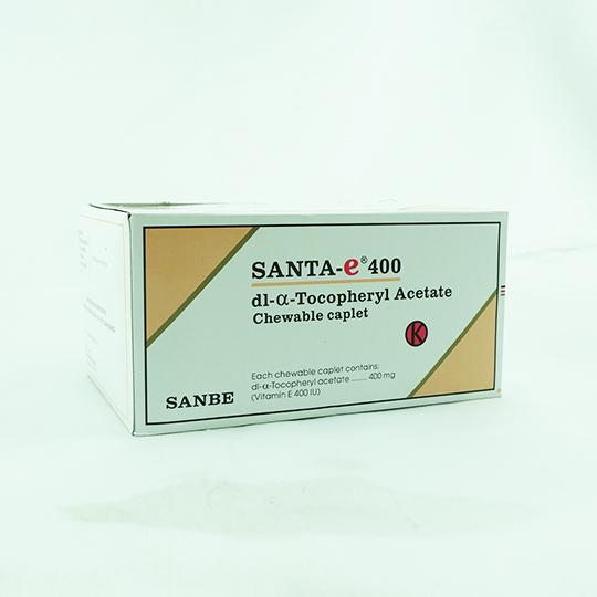 SANTA-E 400 MG 4 KAPLET