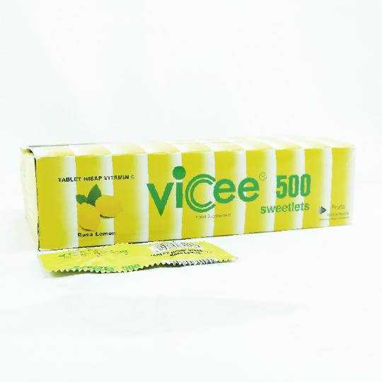 VICEE 500 RASA LEMON 2 TABLET