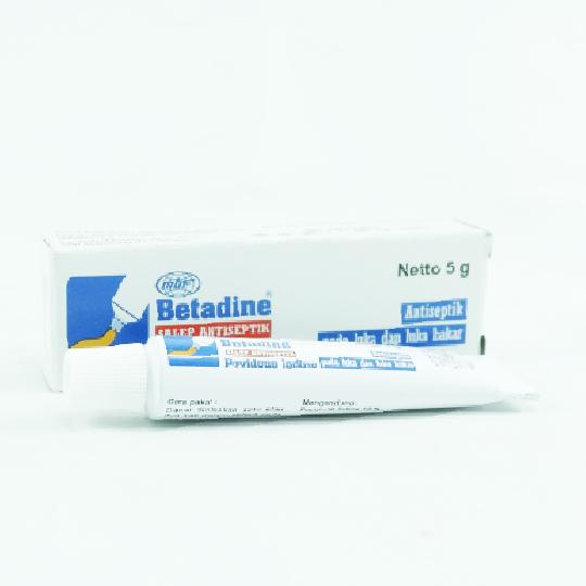 BETADINE 10% SALEP 5 G