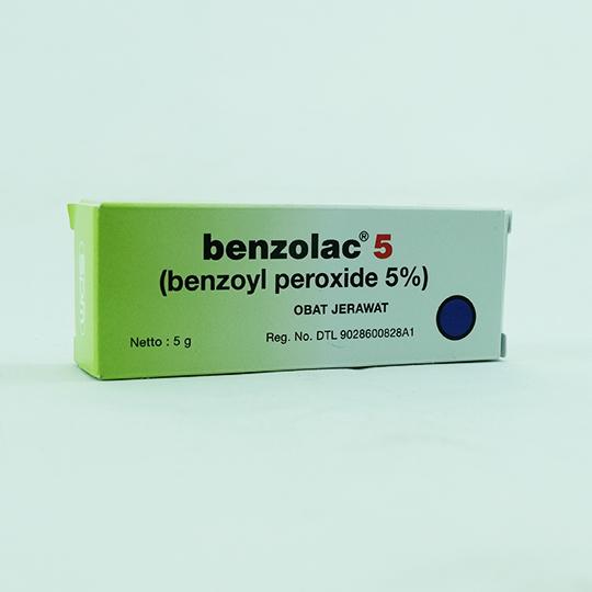 BENZOLAC 5% GEL 5 G