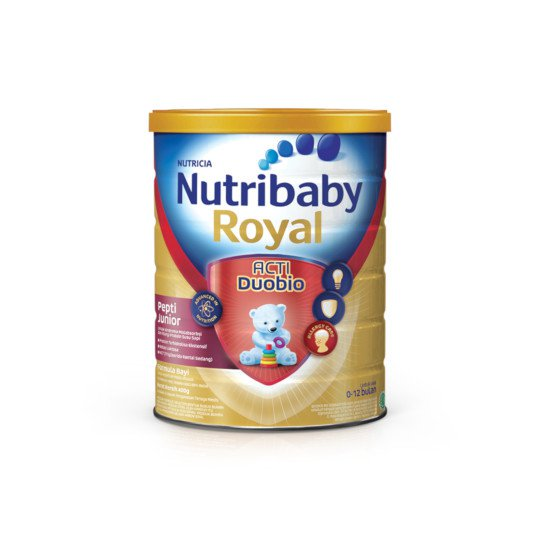 NUTRIBABY ROYAL PEPTI JUNIOR FORMULA BAYI BUBUK 400 G