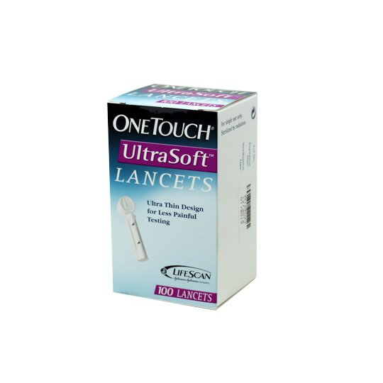 ONE TOUCH ULTRA SOFT LANCETS 100'S