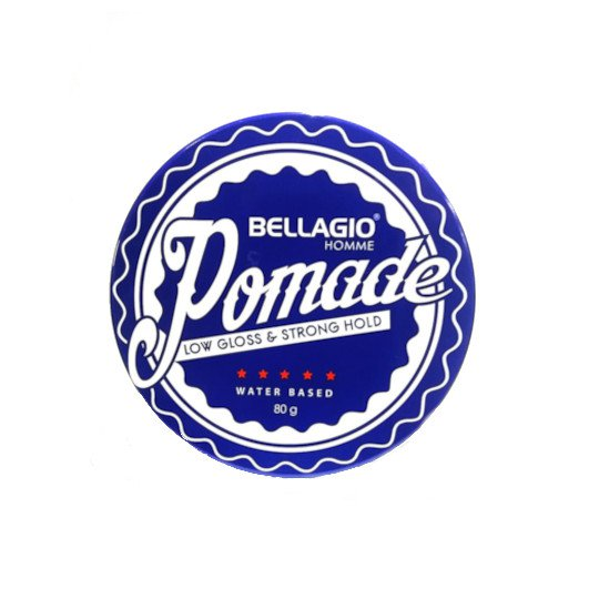BELLAGIO POMADE LOW GLOSS & STRONG HOLD 80 G