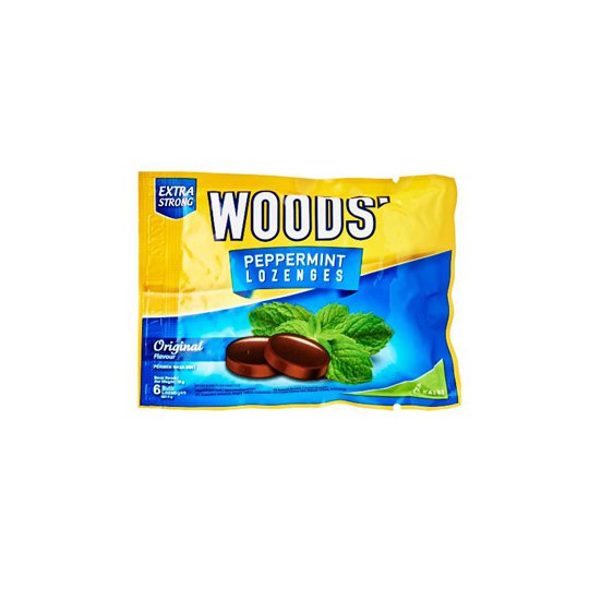 WOODS LOZENGES EXTRA STRONG 6'S