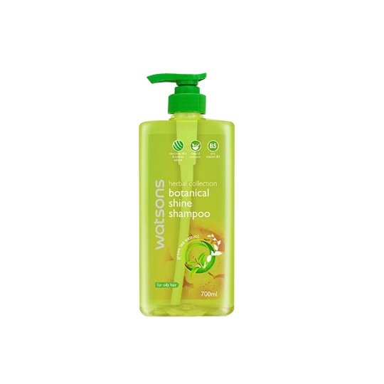 WATSONS HERBAL BOTANICAL SHINE GREEN TEA OILY HAIR SHAMPOO 700 ML