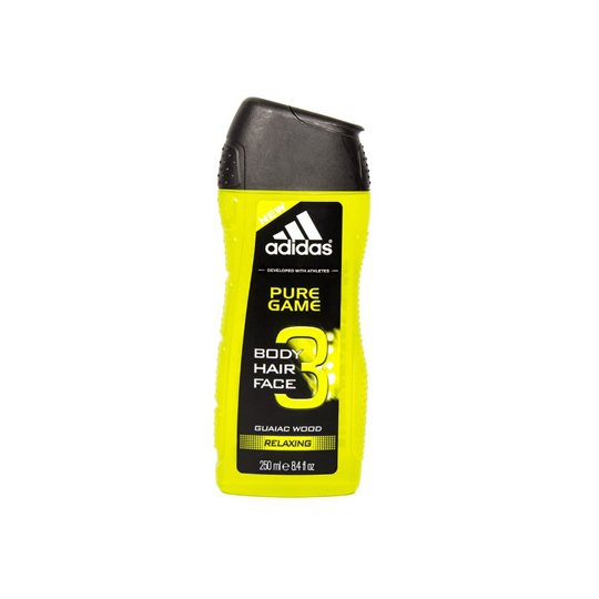 ADIDAS MAN 3 PURE GAME RELAXING 250 ML