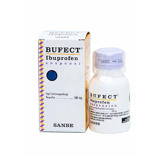 BUFECT SUSPENSI 100MG/5ML 60ML
