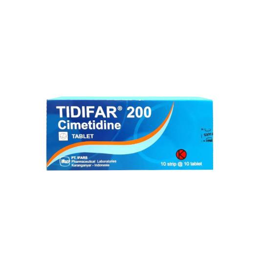 TIDIFAR 200 MG 10 TABLET