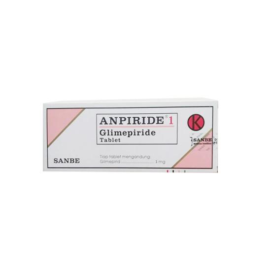 ANPIRIDE 1 MG 10 TABLET