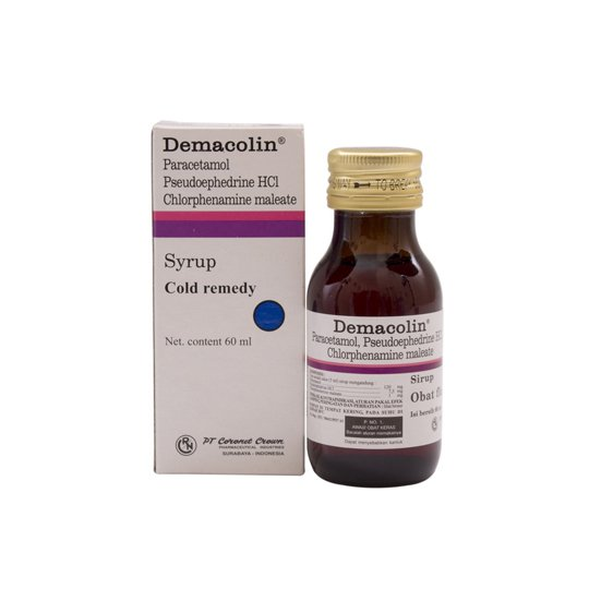 DEMACOLIN SIRUP 60 ML