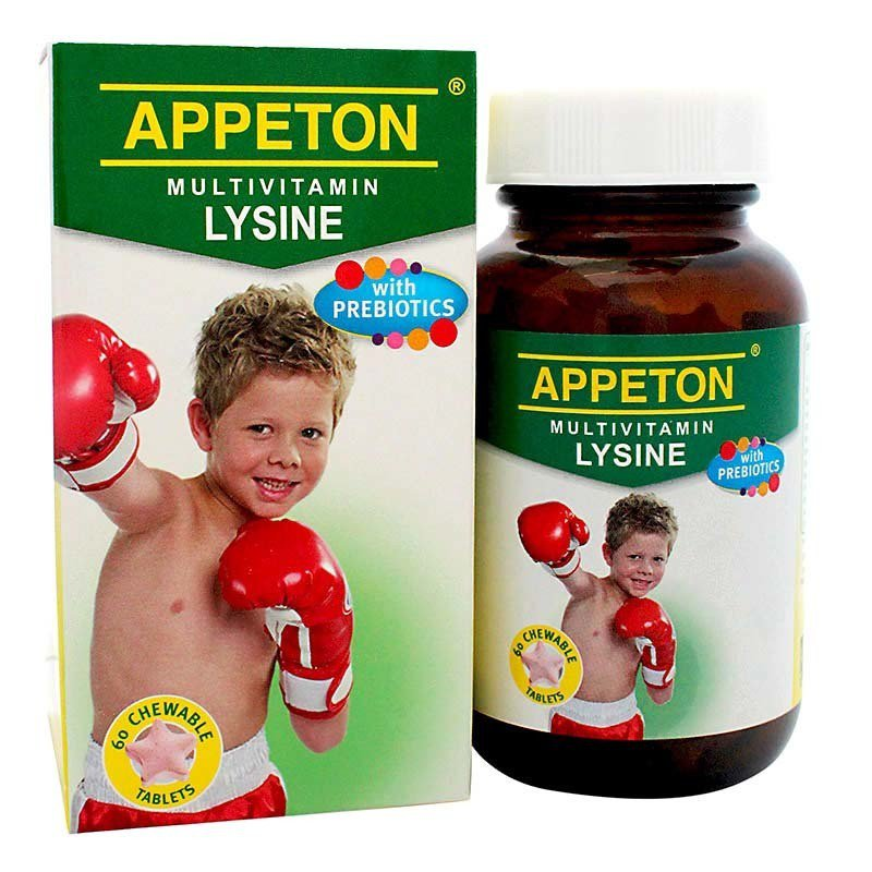 APPETON MULTIVITAMIN WITH LYSINE 60 TABLET