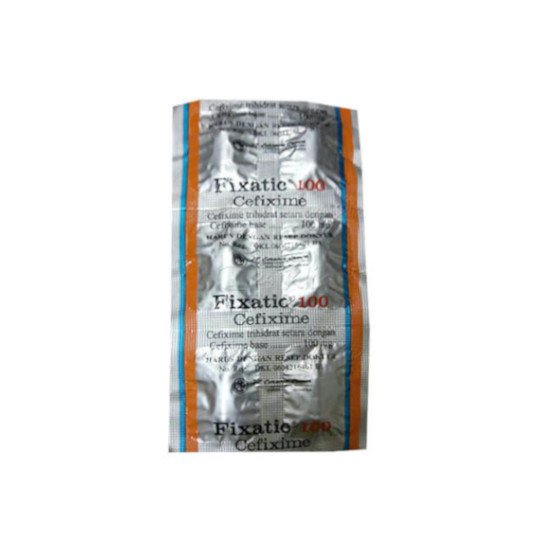 FIXATIC 100 MG 6 KAPSUL