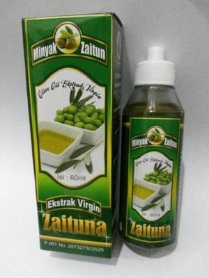 ZAITUNA EXTRA VIRGIN OLIVE OIL SOLUTION 60 ML