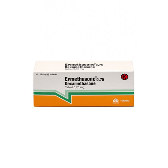ERMETHASONE 0.5 MG 10 TABLET