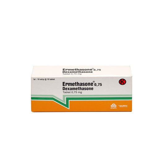 ERMETHASONE 0.75 MG 10 TABLET