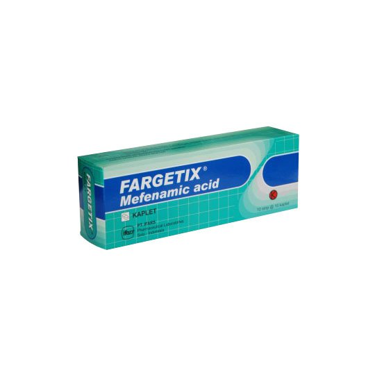 FARGETIX 500 MG 10 KAPLET