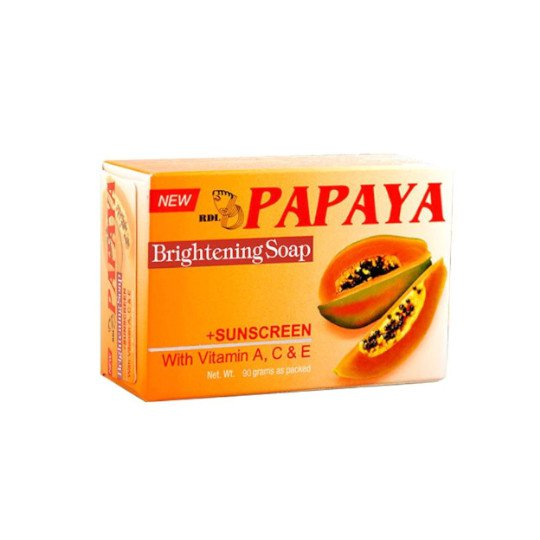 RDL PAPAYA BRIGHTENING SOAP 90 GR