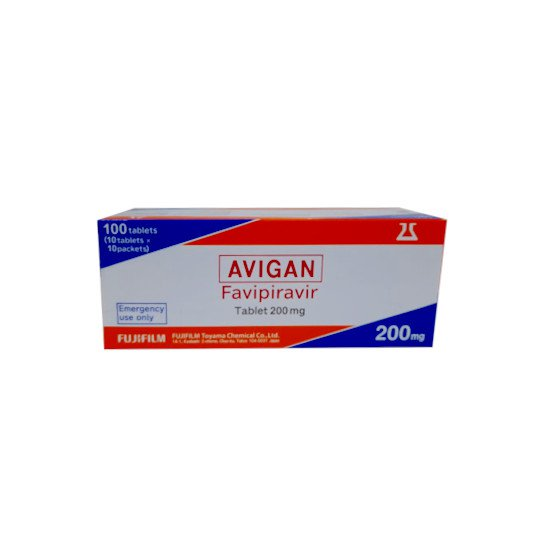 Avigan (Favipiravir) 200 mg 10 Tablet