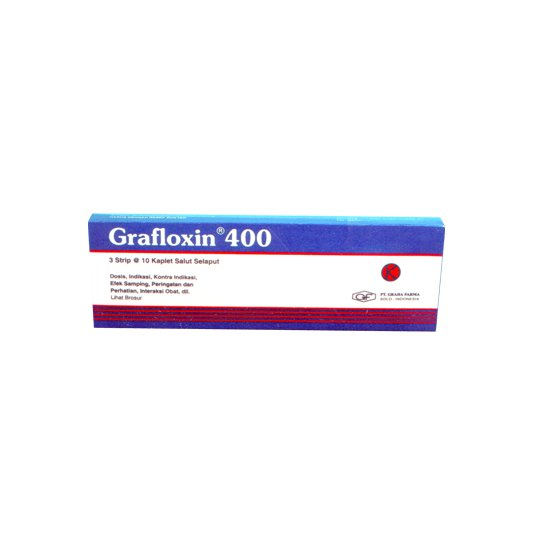 GRAFLOXIN 400 MG 10 KAPLET