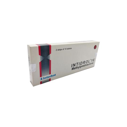 INTIDROL 16 MG 10 TABLET