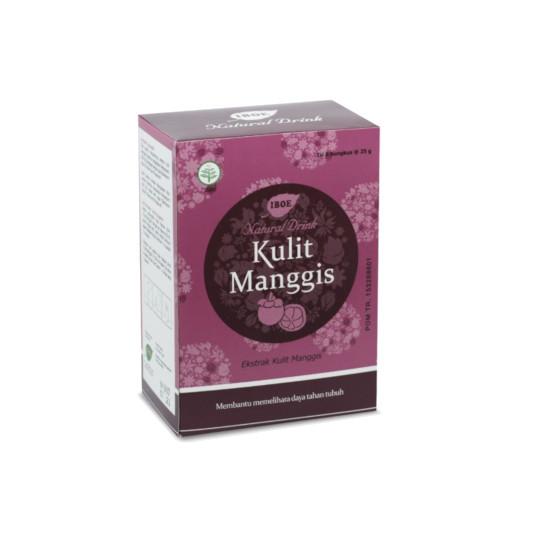 Jamu Iboe Natural Drink Kulit Manggis 5 Sachet