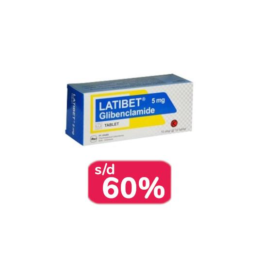 Latibet 5 mg 30 Tablet - Obat Rutin