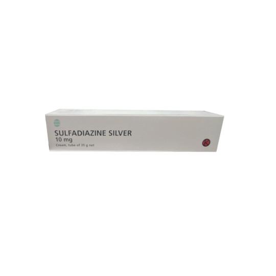 SULFADIAZINE SILVER CREAM 35 G