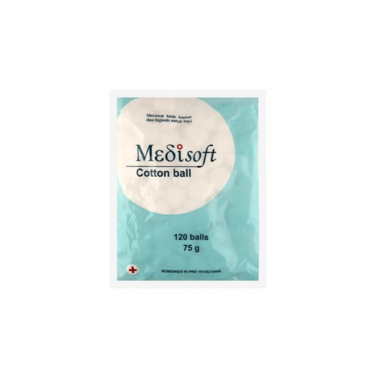 MEDISOFT COTTON BALL 75 G
