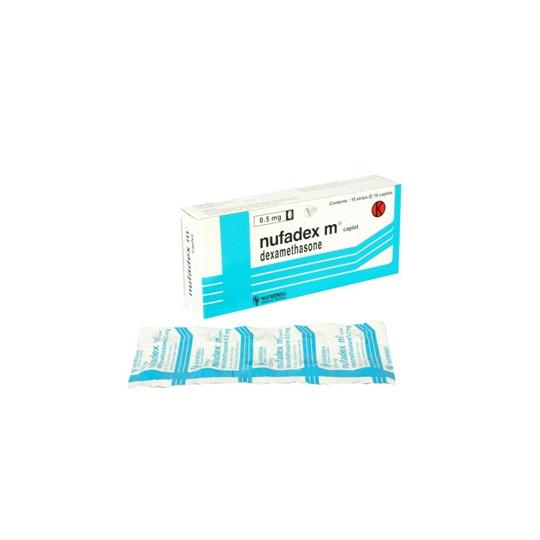 NUFADEX M 0.5 MG 10 KAPLET